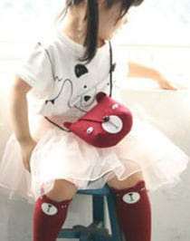 Torebka bordowa Red Bear Bag Mini Dressing