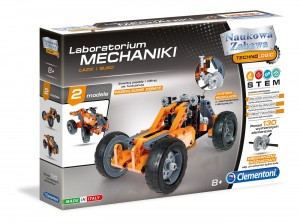CLEMENTONI LABORATORIUM MECHANIKI - ŁAZIK I QUAD 8+