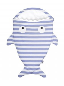 Baby Bites Śpiworek Shark (0-3 m) Sailor Blue