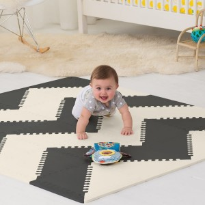 Mata Playspot Black/Cream GEO