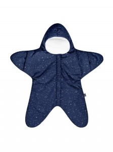 Baby Bites Kombinezon light Star (3-6 miesięcy) Navy Blue