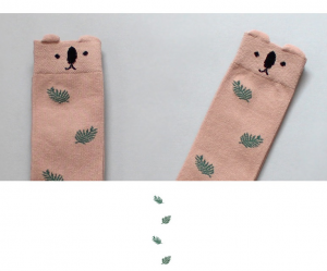 Skarpetki brązowe Jungle Bear socks