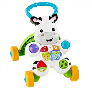 Fisher Price Interaktywny Chodzik Zebra 6m+