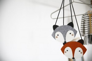Torebka szara Fox bag Mini Dressing